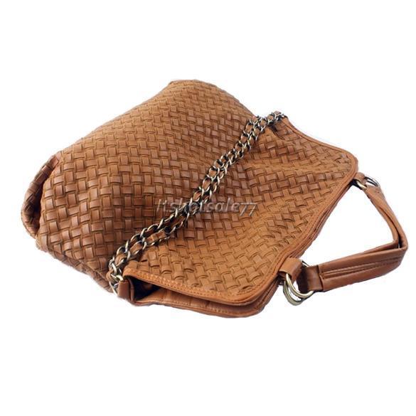 Korean-Style-Lady-Hobo-PU-Leather-Handbag-Shoulder-Bag-New